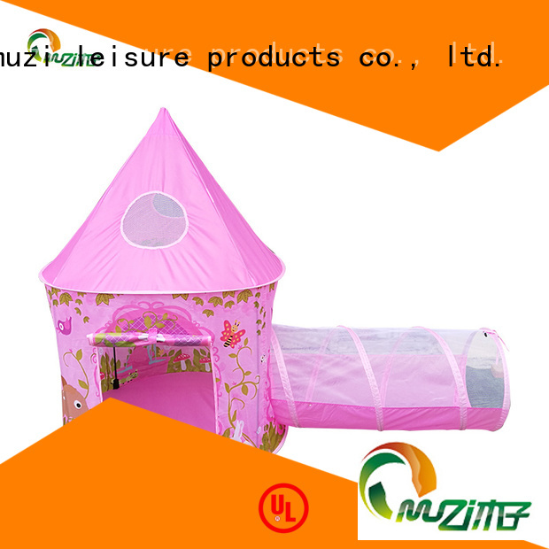 Muzi mask indoor princess tent china manufacturing for outdoor