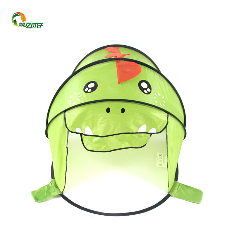 Children's indoor outdoor dinosaur shape D-001 pop up tent play for kids