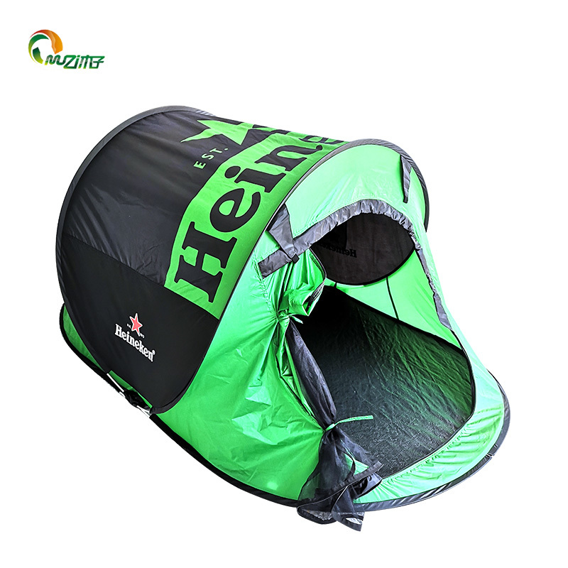 2 person tent fast pitch pop up tent-waterproof and ventilated with a durable groundsheet perfect pop up tents for camping p-001