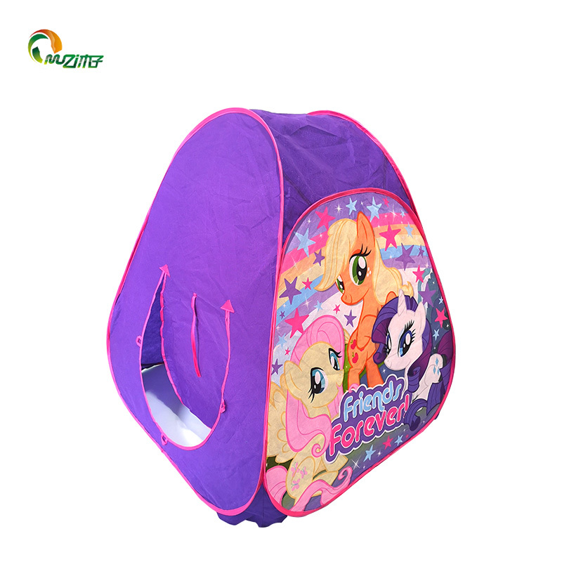 Pop up type no bottom little Pony non-woven fabric Childrens Indoor Tent S-002