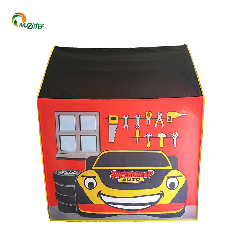 SCA car repair room pvc frame polyester boys play tent fabric house u-002