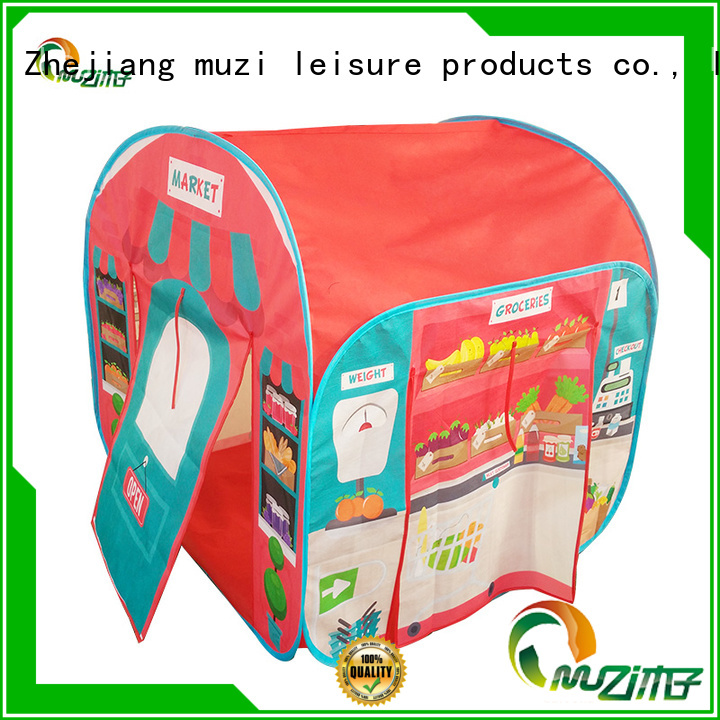 Muzi low price kids popup tent quick transaction for babies