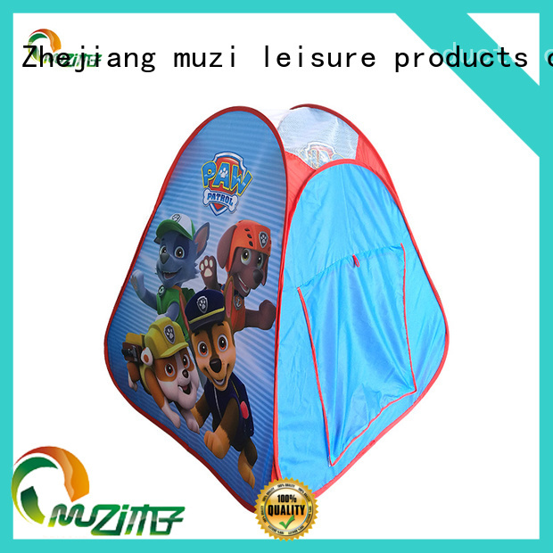 Muzi 100% quality castle play tent china manufacturing for boy
