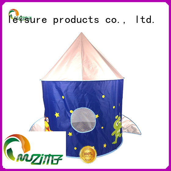 Muzi hot recommended castle tent custom made for kids