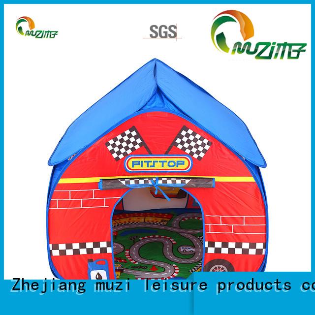 Muzi pvc kids play tent set from China for girl
