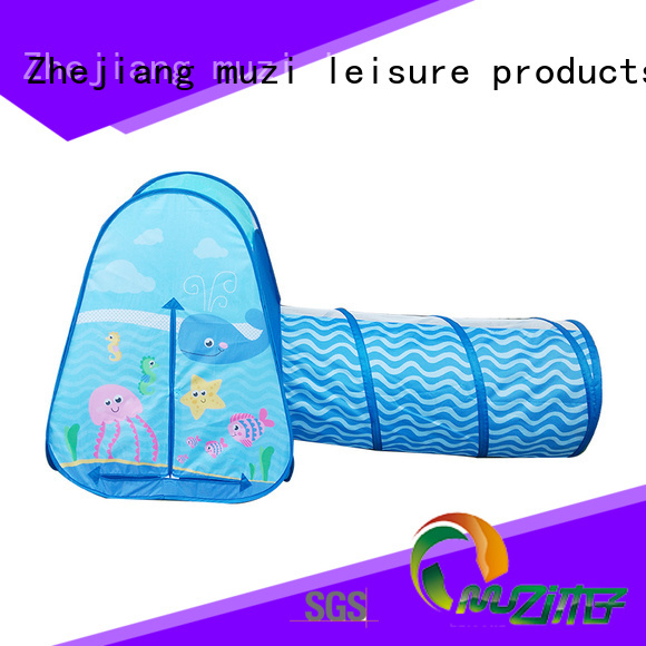 Muzi 5 star services pop up tent outdoor chinese manufacturer for boy
