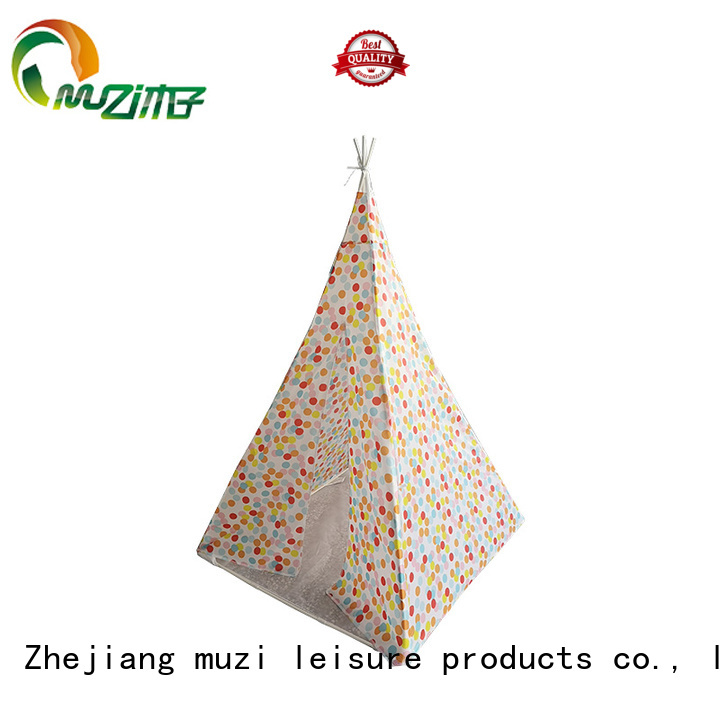Muzi pole kids play tent set trader for children
