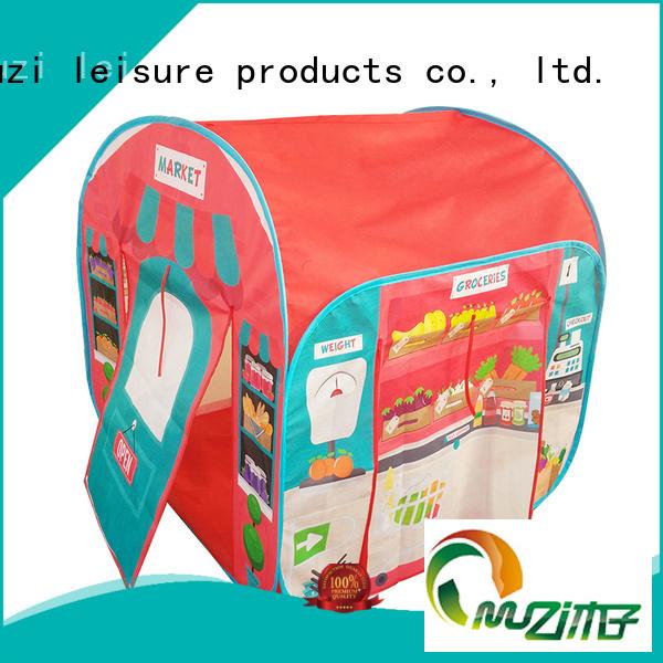 Muzi little waterproof pop up tent quick transaction for girl