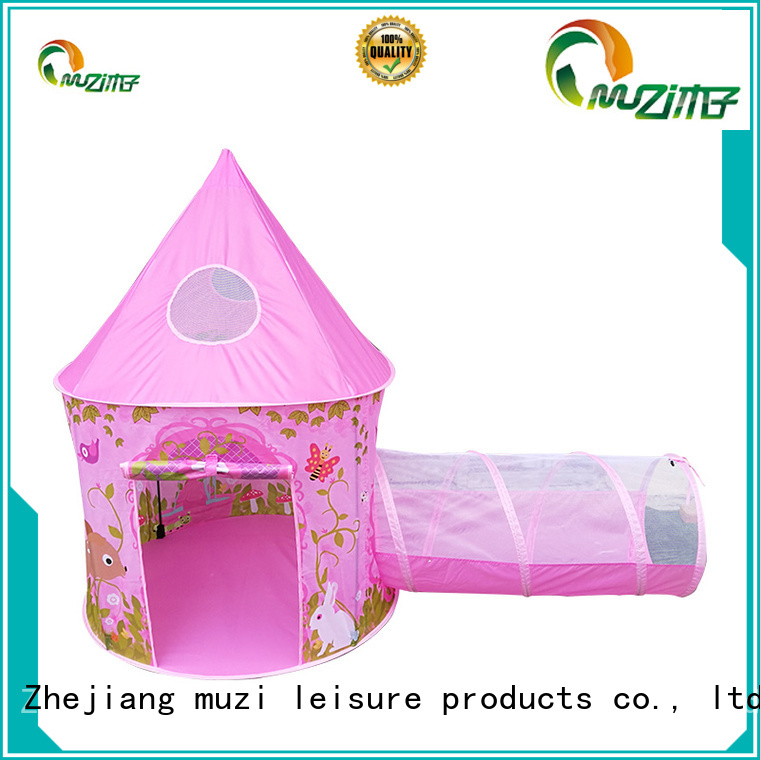 Muzi z001 pop up playhouse tent china manufacturing for kids