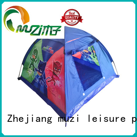 Muzi pole pop up tent dome manufacturer for kids