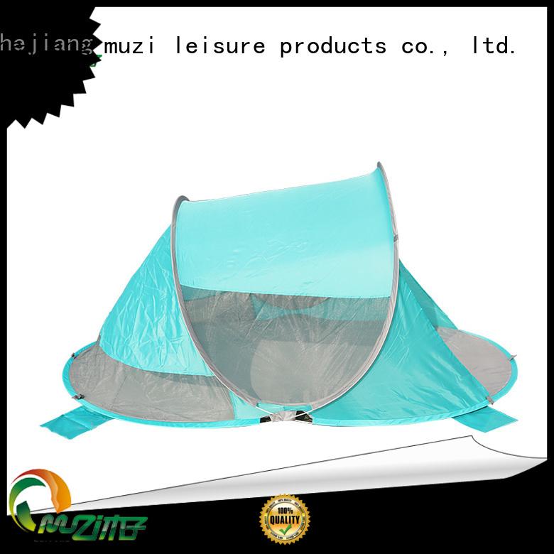 Muzi fishing pop up beach tents customized for outdoor activity
