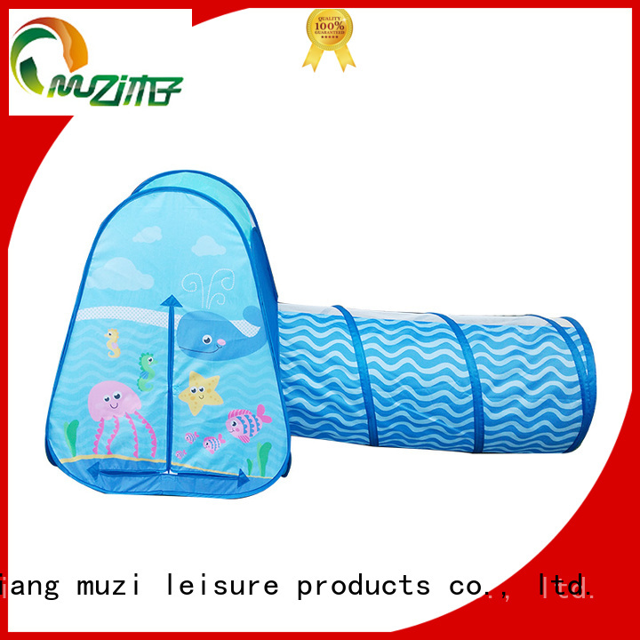 Muzi high quality play teepee trader for babies