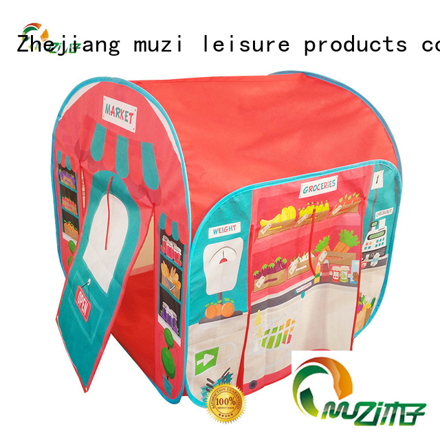 Muzi highly recommend waterproof pop up tent export worldwide for babies