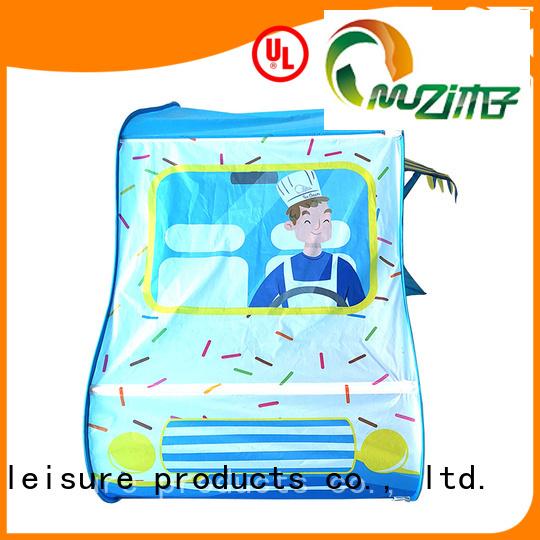 Muzi bottom girls indoor tent china manufacturing for outdoor