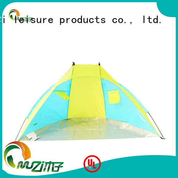 durable beach shelter tent yellow manufacturer for beach